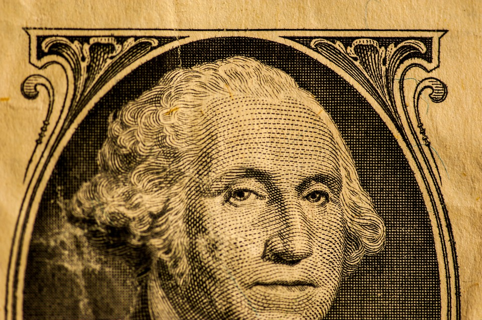 Washington na dolaru