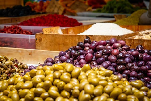 ovoce v obchodě