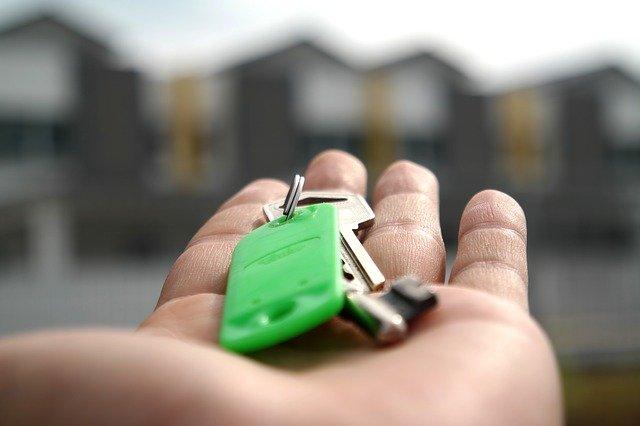předání klíčů od bytu