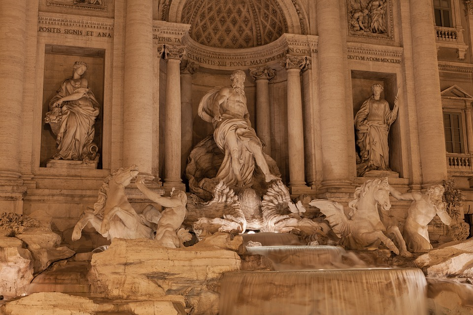 fontána di trevi